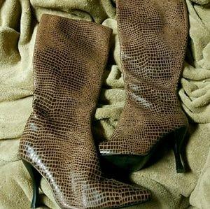 Kitten Heels Stilleto Boots